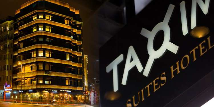 Taxim Suites Hotel Slider